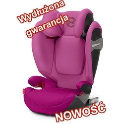 Cybex Solution S-Fix Fancy Pink >>> Wydłużona gwarancja <<< wys 24H, serwis door to door, HOLOGRAM