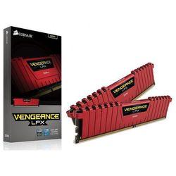Pamięć DDR4 Corsair Vengeance LPX 16GB (2x8GB) 3200MHz CL16 1.35V RED