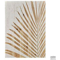 Drewniana dekoracja ścienna Liść palmowy 103411 Graham&Brown
