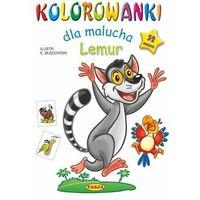 Literatura młodzieżowa, Kolorowanki dla malucha lemur - ernest błędowski (opr. miękka)