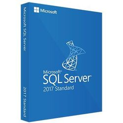 SQL Server 2017 Standard elektroniczny certyfikat