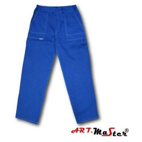 Kombinezony i spodnie robocze, SPODNIE DO PASA COMFORT DO PASA MIX KOLORÓW art master 176/ 98-102/ 112 niebieski