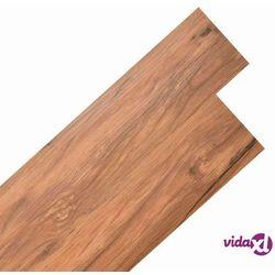 vidaXL Samoprzylepne panele podłogowe z PVC, 5,02 m², naturalny wiąz Darmowa wysyłka i zwroty