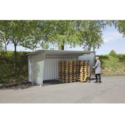 Ścianka boczna do zadaszenia płaskiego dachu, do wersji jednostronnej, ścianka l