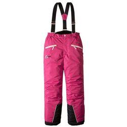 Spodnie od kombinezonu bonprix ciemnoróżowy