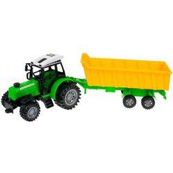 Zestaw 4 traktorów + Maszyny Rolnicze dla Małego Farmera