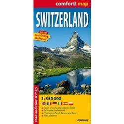 Switzerland Laminowana Mapa Samochodowo-Turystyczna 1:350 000 (opr. miękka)