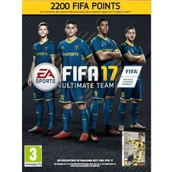 Gra PC ELECTRONIC ARTS FIFA 17 2200 Punktów CIAB