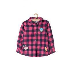Koszula dziewczęca w kratę 3J3705 Oferta ważna tylko do 2023-08-03
