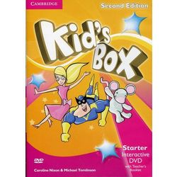 Kid's Box Starter Interactive DVD (NTSC) with Teacher's Booklet - Nixon Caroline, Tomlinson Michael, Elliott Karen