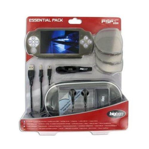 Akcesoria do PSP, Zestaw akcesoriów BIGBEN Essential Pack do konsoli PSP + Zamów z DOSTAWĄ JUTRO!