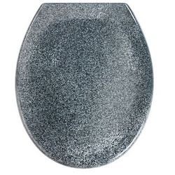 Deska sedesowa OTTANA GRANIT - Duroplast, wolnoopadająca, WENKO
