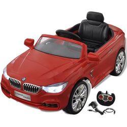 vidaXL BMW - samochód zabawka dla dzieci na baterie z pilotem czerwony Darmowa wysyłka i zwroty