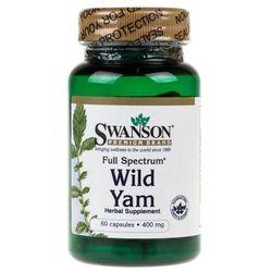 Swanson Wild Yam Root (Dziki Pochrzyn) 400 mg - 60 kapsułek