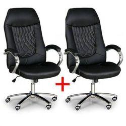 Fotel biurowy SUPERIOR 1+1 Gratis, czarny Włóż do koszyka jedną sztukę, drugą sztukę wyślemy automatycznie gratis. Akcja trwa do wyprzedania zasobów.
