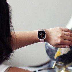Bransoleta Milaneseband do Apple Watch 2 / 3 / 4 / 5 / 6 / SE (42/44mm) Gold