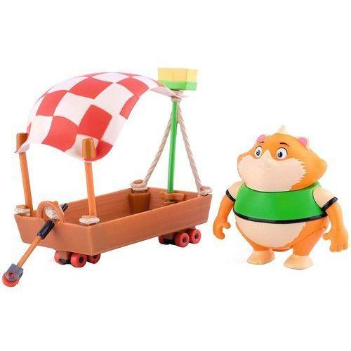Figurki i postacie, Smoby 44 Figurka Koty Klopsik z łódką Meatball