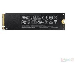 Samsung 970 PRO 512 GB, SSD interface M.2, Write speed 2300 MB/s, Read speed 3500 MB/s
