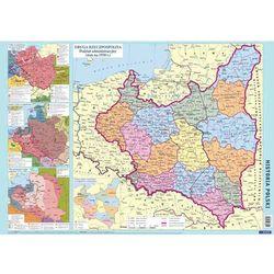 Historia Polski szkolna mapa ścienna dwustronna