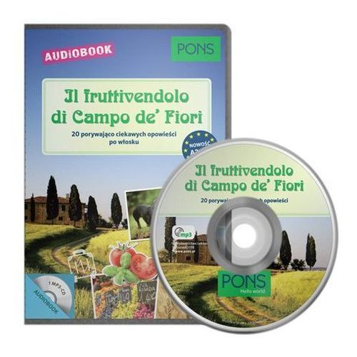 Książki do nauki języka, Il Fruttivendolo di Campo (A2-B1) + CD (opr. kartonowa)