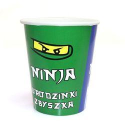 Kubeczki personalizowane Ninja - 250 ml - 6 szt.