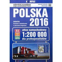 Atlas samochodowy Polska 2016 dla profesjonalistów 1:200 000 - Wysyłka od 3,99 - porównuj ceny z wysyłką (opr. twarda)
