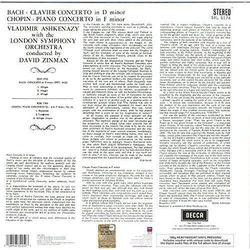 Bach Concerto 1, Chopin Concerto 2