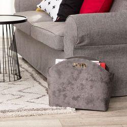 Dekoria Gazetnik Elegance Grey 46x15x35cm, 46x15x52cm