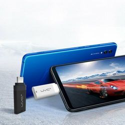 Mini mobilny sterylizator lampa UV UVC do telefonu ze złączem Lightning OTG czarny
