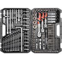 Zestawy narzędzi ręcznych, YATO Zestaw narzędzi - 128 el. (YT-38872)