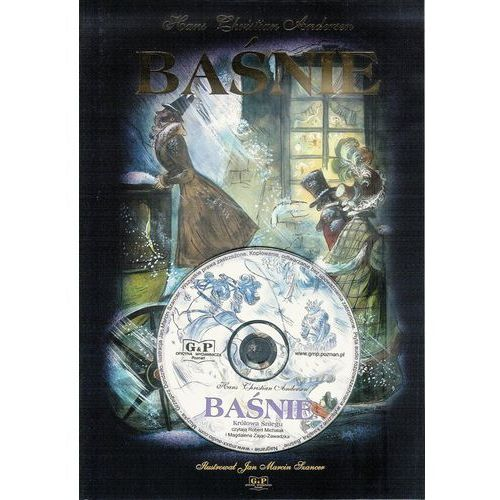 """Książki fantasy i science fiction, Baśnie (książka + CD """"Królowa śniegu"""") - Wysyłka od 5,99 - kupuj w sprawdzonych księgarniach !!! (opr. twarda)"""