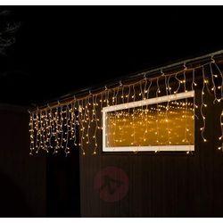 Zewn. zasłona LED Deszcz ze śniegiem, 200-pkt