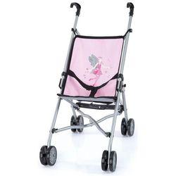 Bayer Design Wózek spacerowy dla lalek kolor różowo-szary 3010800