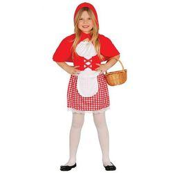 Strój dla dzieci Czerwony Kapturek 5-6 lat