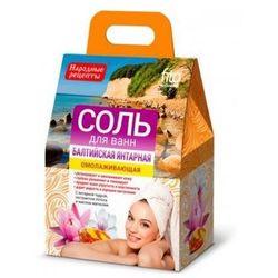 Sól do kąpieli Bałtycka Bursztynowa 500g - Fitocosmetic