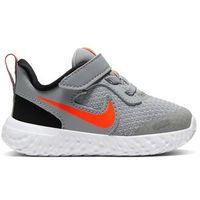 Buty sportowe dla dzieci, Nike Buty Revolution 5 (TDV) BQ5673 007 Szary