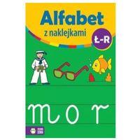 Książki dla dzieci, Alfabet z naklejkami Ł - R (opr. miękka)