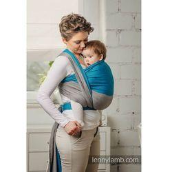 Moja pierwsza chusta do noszenia dzieci - SODALIT, tkana splotem skośno - krzyżowym - Rozmiar S - LennyLamb