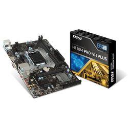 Płyta główna MSI H110M PRO-VH PL DDR4 DIMM LGA 1151 Micro ATX