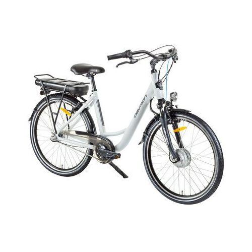 """Rowery elektryczne, Miejski rower elektryczny Devron 26120 26"""" - model 2017, Champagne, 18"""""""