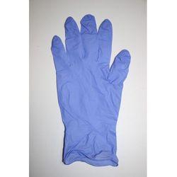 Rękawiczki niesterylne nitrylowe bezpudrowe FIOLETOWE