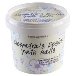 Bomb Cosmetics Cleopatra´s Desire sól do kąpieli nawilżająca (Hydrating Bath Salts With Pure Jasmine and Rose Essential Oils) 260 g