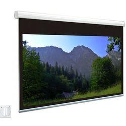 Ekran elektryczny Avers Solaris 400x300cm, 4:3, Silver P