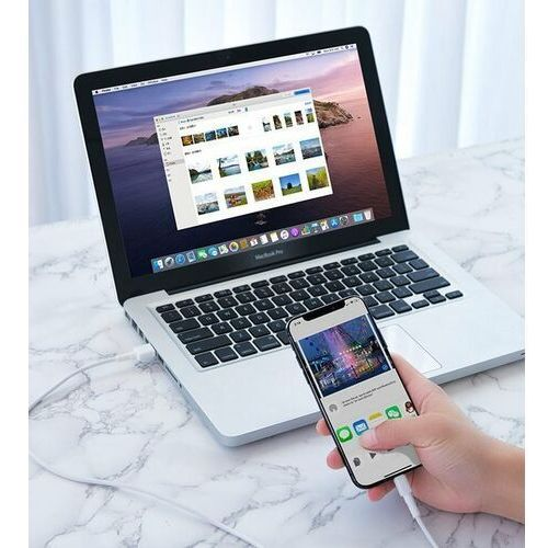 Smartbandy, Baseus Mini White   Szybki kabel USB Micro USB Quick Charge 2.4A 1m