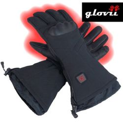 Rękawice narciarskie ogrzewane glovii GS7 czarne-L