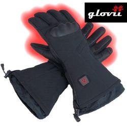 Rękawice narciarskie ogrzewane glovii GS7 czarne-XL