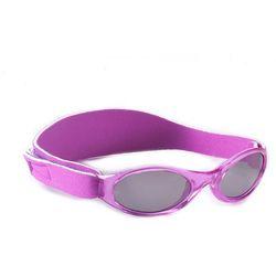 Okulary przeciwsłoneczne UV, 0-2 lat, BABY BANZ - Purple