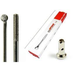 Szprychy CNSPOKE STD14 2.0-2.0-2.0 stal nierdzewna 260mm srebrne + nyple 144szt.
