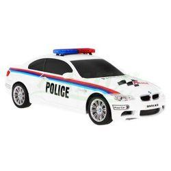 Pojazd na pilot BMW M3 POLICJA DUŻE AUTO R/C 1:18 866-1803PB
