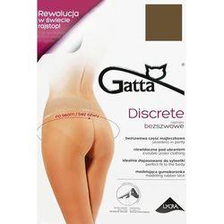 Gatta Discrete 01 rajstopy bezszwowe 15 den t-band